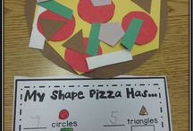 Kindergarten Shapes Art
