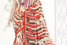 Signature Creation | Printed Sarees | Just Rs.395 / Nikita Sarees Presents Signature Creation Trademark product , Printed Sarees With Border And Blouse . For More Details And product . Contact Us : 7228973002