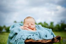 Photography: Outdoor newborn / by Michelle Lee