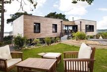 Schöne Holzhäuser