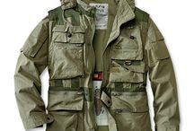 The outdoor  jacket