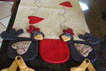 Лоскутные одеяла и тропунто