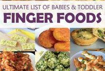 Toddler Finger Foods