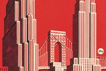 City illustration / City posters and illustration