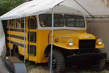 School Buses and Conversions / The versatile school bus....