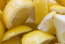 Dishwasher Detergent with Lemons