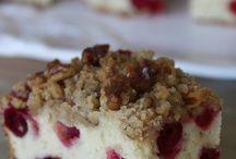 Food: Cake/cheesecake/coffee cake