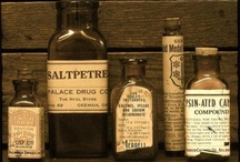 The Apothecary / Inspiration for the apothecary character puppet design