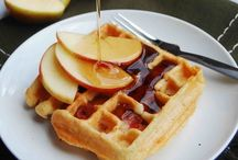 Waffle / Tatlı adına herşey