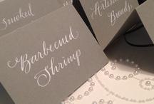 Invitations/Calligraphy