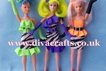 Hasbro Jem Doll Cartoon Inspired clothes by Cazjar / Hasbro Jem Doll Cartoon Inspired clothes by Cazjar