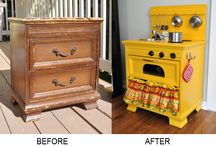DIY Wooden Play Kitchen / by Kimberly Godden