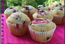 Muffins mascarpone fruits rouges