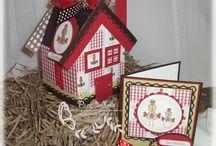 Vogelhuisjes/huisjes