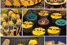 minion birthday party / by Sara Kessler