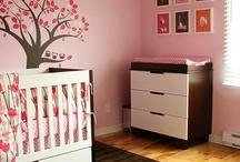 Baby girl Nursery  / Ideas for my babies nursery