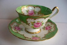 """Green"" Royal Albert Patterns / All of these patterns are in the Green Theme!!