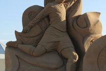 Kunst: Sculpturen en beelden/ Art: Sculptures