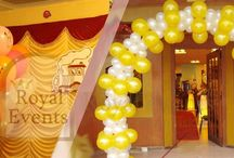 Corporate and Party Decor / Professional and elegant decoration for corporate and party events.