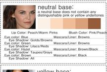 primer, foundie, lipstick etc