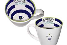 Inside Out Mugs / These innovative mugs feature designs on the inside and out.    Look within each mug and a rainbow of bright colours, amazing patterns and quirky twists is revealed.  http://www.a-choice-of-gifts.co.uk/giftshop/cat_1001065-Inside-Out-Mugs.html