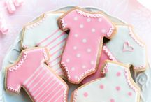 Baby Shower Food / With the arrival of a new royal baby we've going crazy for food and recipes fit for a tiny prince (or princess). Take a look and let us know what you would bake to celebrate a new arrival!