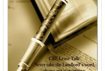 CRE Lease Talk Tips / Every tip helps when it comes to the Lease.