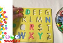 Teaching Toddlers ABC / Do you like to learn?  Do you like to have fun?  Videos are fun ways to learn letters.  So, let's learn together!