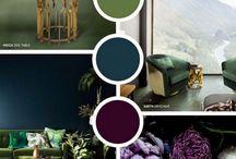 Purple 2018 Pantone Colour / Purple interiors
