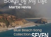 BBS Collection SEVEN   Songs by Martie Hevia / 'Blue Beach Song Collection: SEVEN   Songs of My Life by Martie Hevia' is the seventh album in my Blue Beach Song Collection series. As a singer-songwriter, lyrics and melody have always been the heart of my music. My original compositions intimately express my own, yet universal, emotional journeys and life stories in an Acoustic-Indie-Pop-Rock-Folk style, written for voice and guitar. The recordings are simple, acoustic, one-takes. As you will hear, I am a work in progress!