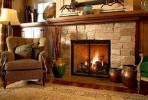 Fireplaces / by Vonda Davis