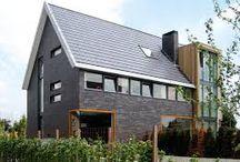 kleur steen huis