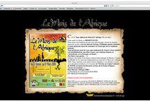 Webdesign / Création de l'enfant au bateau de papier