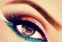 μάτια και φρύδια