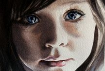 watercolor portraits, people, and figures / by Lana Housewright