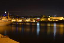 Architektur und Landschaften in Malta