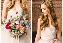 Jewel Tone Color Inspiration / bold wedding colors in jewel tones