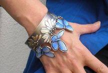 Armband, brecelet, enamel