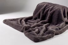Grey and Silver Faux Fur / Faux Fur Throws, Cushions and other Decor in Grey and Silver