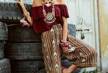 Bohemian style / Outfit