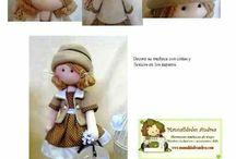 fazer bonecas !