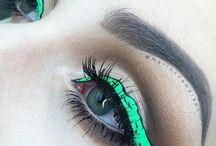 pinto ojos