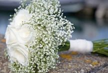 White bouquet wedding flowers
