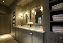 bathrooms. / by brettVdesign - interior designer + blogger
