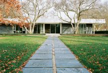 J. Irwin Miller House, Columbus, IN / Mid century Modern / by Madeline Zwikelmaier