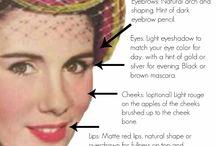 1940s Make-Up & Hair