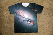 Sublimation Galaxy Shirts