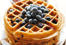 Pancakes and Waffles / Here you will see the more delicious breakfasts like waffles and pancakes