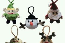 enfeites natalinos em croche