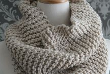 Knitting : Shawls and scarfs